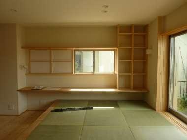 飾るスペースのある畳コーナー