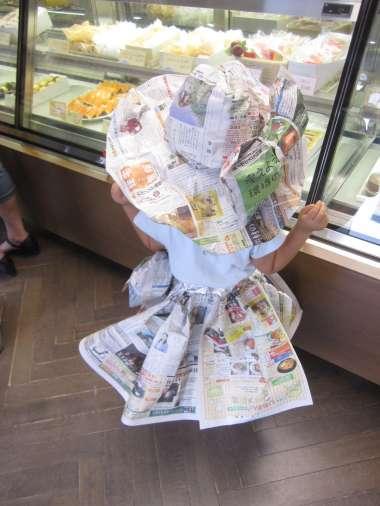 新聞ドレス